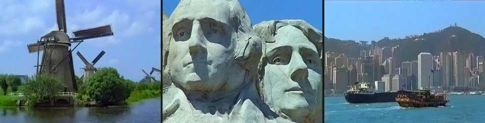 Netherlands, Mount Rushmore, China