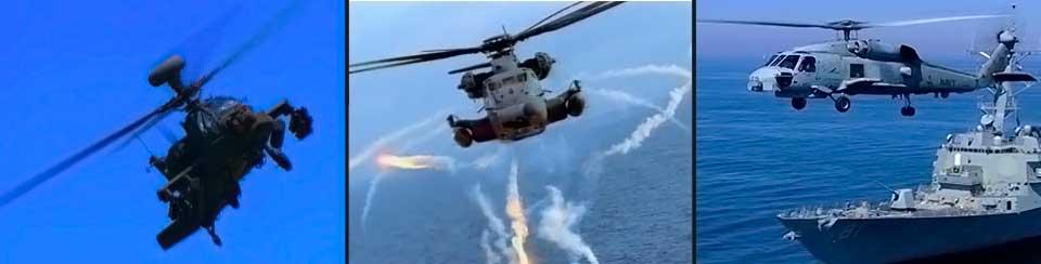 H-60, Apache, H-53