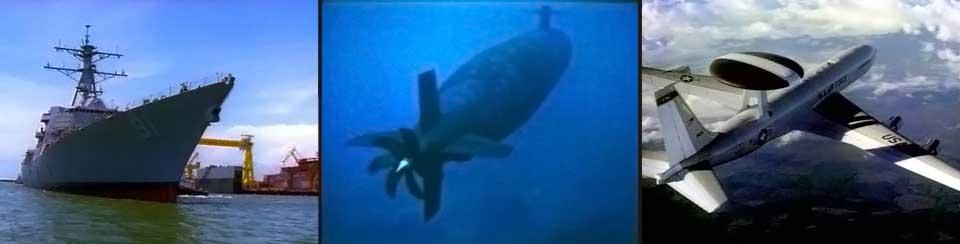 Ships, Submarines, Awacs
