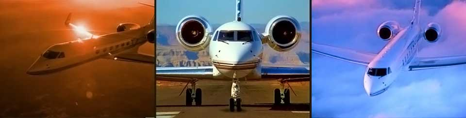 Private Jets Learjet Gulfstream V